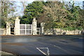 O2249 : Secondary entrance to Newbridge Demesne, Donabate, Co. Dublin. by Colm O hAonghusa