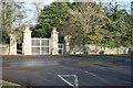 O2249 : Secondary entrance to Newbridge Demesne, Donabate, Co. Dublin. by Colm O hAonghusa