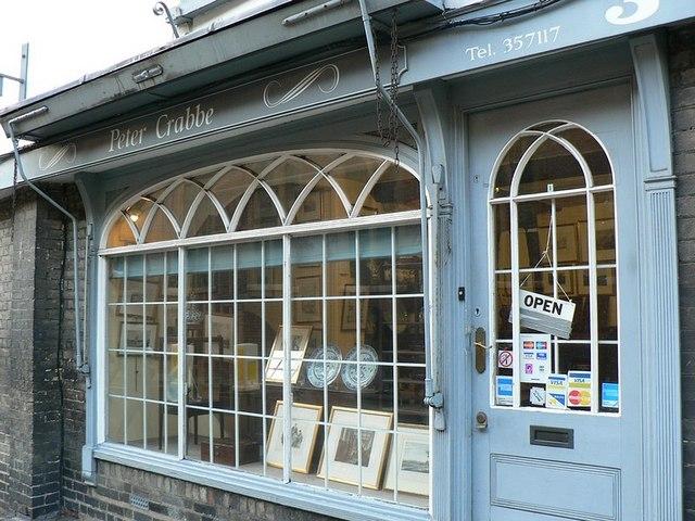 Antique Shop, Pembroke Street, Cambridge