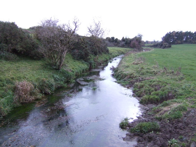 River Sow - view downstream