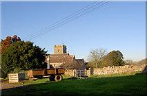 ST6990 : St Andrew's Church Cromhall by Steve  Fareham