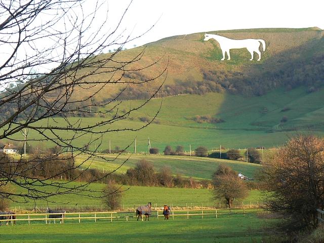 Westbury White Horse, Bratton
