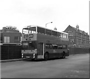 SD8913 : GMPTE double-decker at Rochdale bus station by Dr Neil Clifton