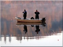 SK2086 : Gone fishing by John Fielding