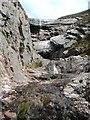 NN1241 : Waterfall on Ben Starav by Ben Dallimore