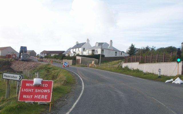Roadworks Whalsay