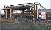 NZ5522 : Pipeline Expansion Loops by Mick Garratt