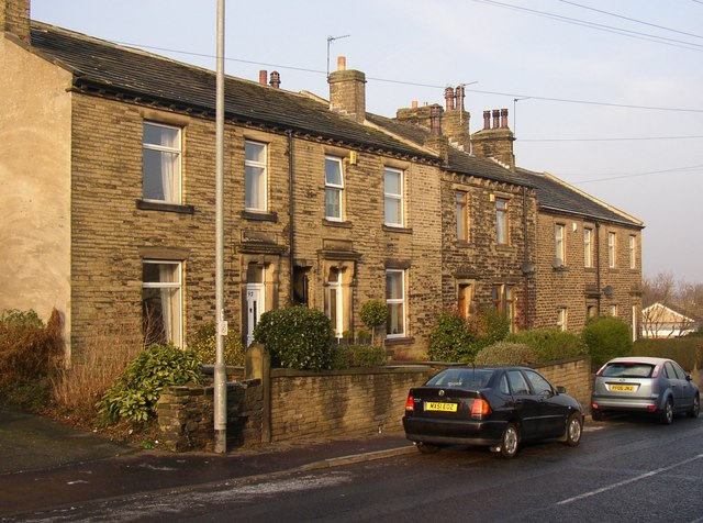 Houses, Crowtrees Lane, Rastrick
