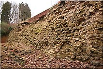 SK9772 : Roman Wall by Richard Croft
