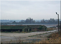 TA0623 : Old Tile Drying Sheds, Barrow Haven by David Wright
