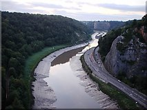 ST5673 : River Avon from Clifton Suspension Bridge by Tom Jolliffe