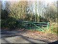 TR2748 : Gated farm track by Nick Smith