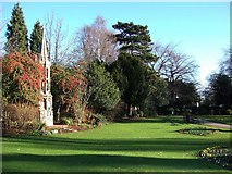 TL1998 : Bishop's Road Gardens, Peterborough by Derek Harper