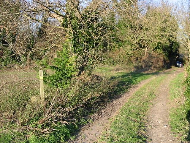 Footpath from Little Mongeham