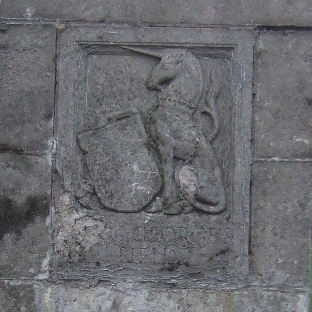 Heraldic plaque, King George's Field