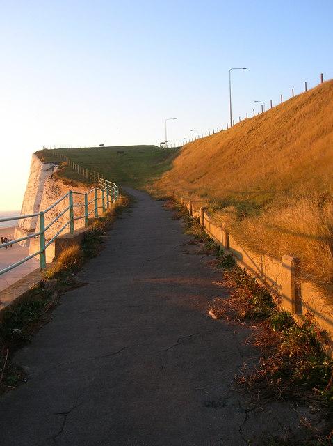 Cliff Top Walk by Simon Carey