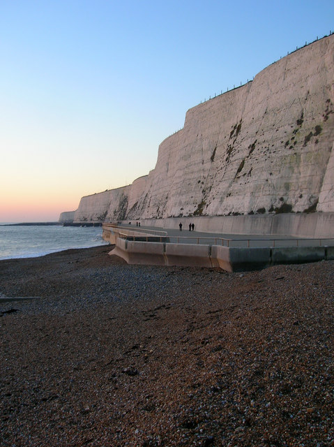 Cliffs Between Saltdean and Rottingdean by Simon Carey