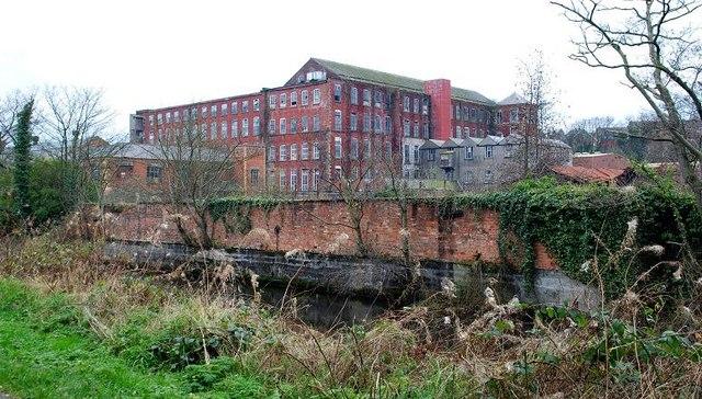 Former Barbour's mill, Hilden