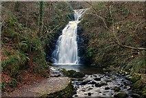 J3996 : Glenoe waterfall (24) by Albert Bridge