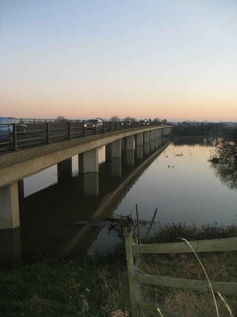 Bridge over the Hundred Foot Washes at Mepal