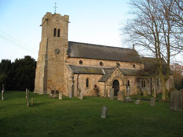 Church of St Radegund, Scruton