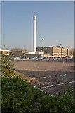 SU4212 : Chimney at Royal South Hants Hospital, Southampton by Peter Facey