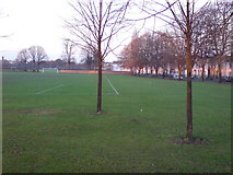 TQ7668 : Garrison Sports Ground, Gillingham by Danny P Robinson