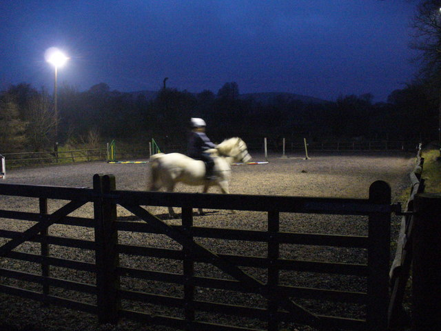 Bryngwyn Riding Centre - riding lessons in winter