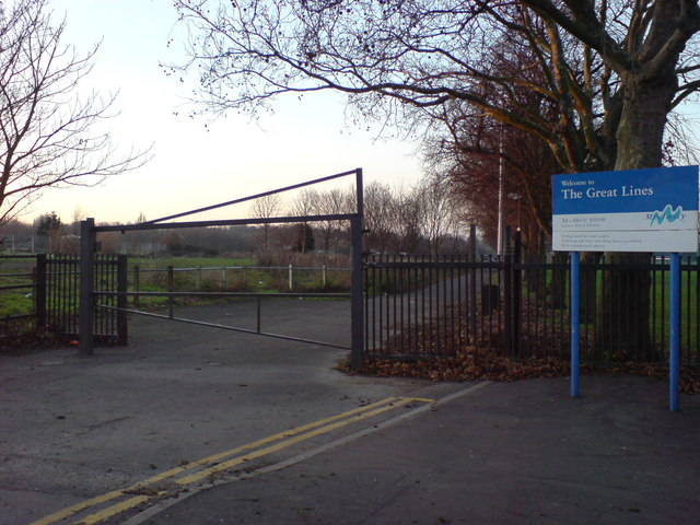 Marlborough Road Entrance to Great Lines