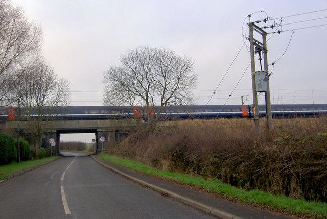 East Coast Main Railway Line bridge