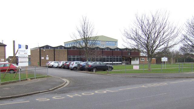 The Tennyson High School, Mablethorpe © Jonathan Billinger ...