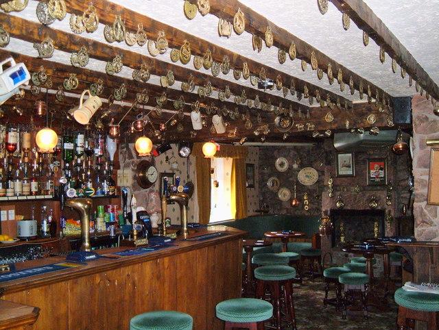 The Main Bar. The Hound Inn, Arlecdon, Cumbria.