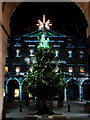 NT2573 : The City Chambers in Festive Mode. by Bill Henderson