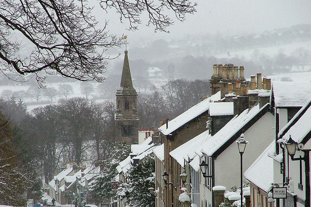 Eaglesham in the Snow