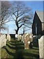 SX2679 : Graveyard,Trevadlock Cross Chapel by Derek Harper