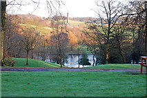 SD8611 : Crimble Mill from Queens Park by Christopher Hill