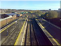 TQ4668 : View from overbridge at St Mary Cray rail station by Stacey Harris