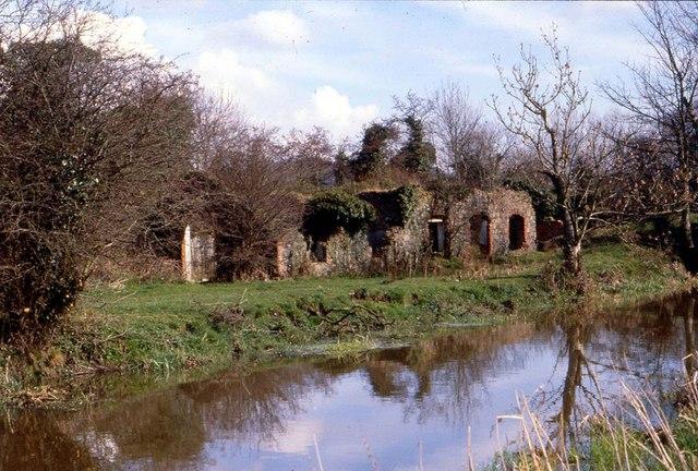 Old Mill Ruin, River Lagan