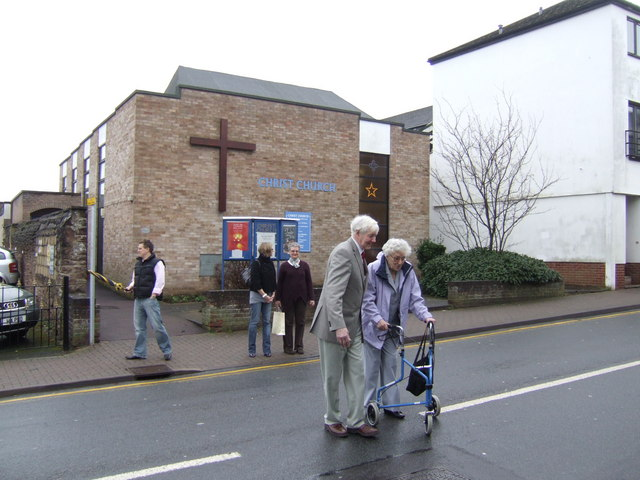 After church; Christmas Day 2007