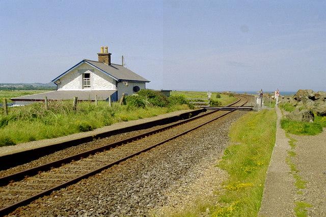 Newcastle railway station (Co. Wicklow)