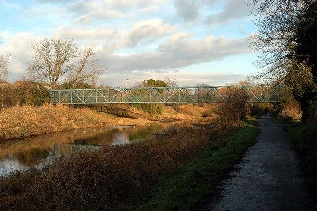 A Footbridge crossing