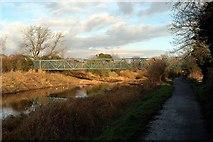 J2967 : A Footbridge crossing by Wilson Adams