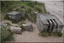 NT6281 : Coastal defenses WWII by John Haddington