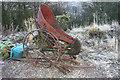 NY9342 : Old farm machinery by Helen Wilkinson