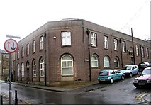 SE1437 : Job Centre viewed from Wharf Street by Betty Longbottom