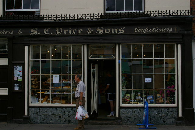 Bakery Shop, Ludlow by Terry Johnson