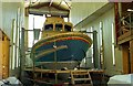S7010 : Lifeboat at Ballyhack boatyard by Albert Bridge