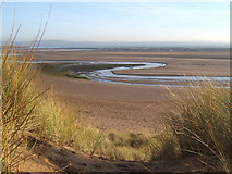 SD1578 : Duddon Sands from the dunes near Haverigg by Andrew Hill