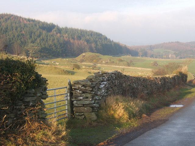 View towards Millom Park