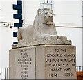 J3731 : War memorial, Newcastle by Albert Bridge